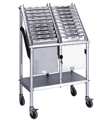Springloaded Charts Rack 20 Capacity
